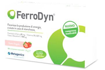 Ferrodyn 84 Compresse Masticabili