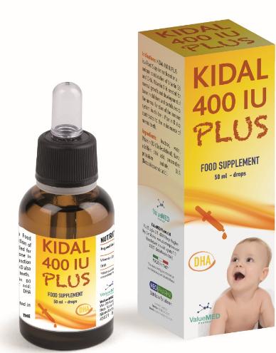 Kidal 400 IU Plus