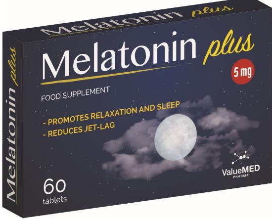 Melatonin Plus 5 Mg
