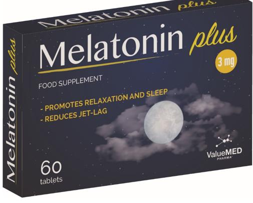 Melatonin Plus 3 Mg