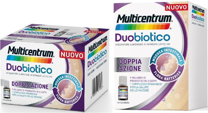 Multicentrum Duobiotico Flaconcini