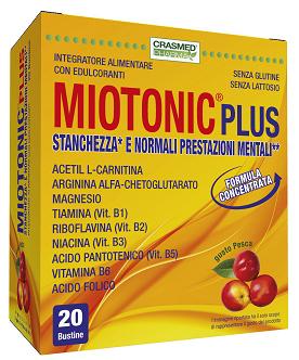 Miotonic Plus Stanchezza E Normali Prestazioni Mentali