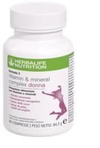 Formula 2 - Vitamin & Mineral Complex Donna
