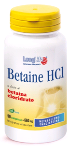 LongLife Betaine HCl 1500 mg