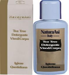 Tea Tree Detergente Viso Corpo