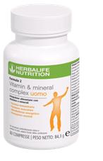 Formula 2 - Vitamin & Mineral Complex Uomo